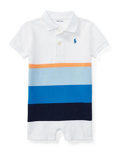 Ralph Lauren Childrenswear Colourblock Mesh Polo Shortall 90029355