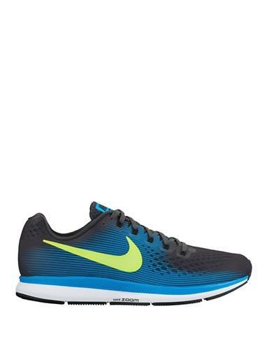 Nike Air Zoom Pegasus 34 Running Shoes-GREY-10.5