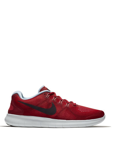 Nike Free RN 2017 Running Shoes-RED-10