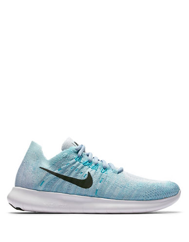 Nike FlyKnit Free Sneakers-BLUE-6