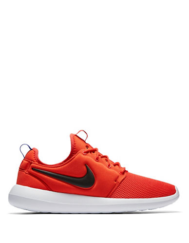 Nike Mens Roshe Two Athletic Shoes-ORANGE-9
