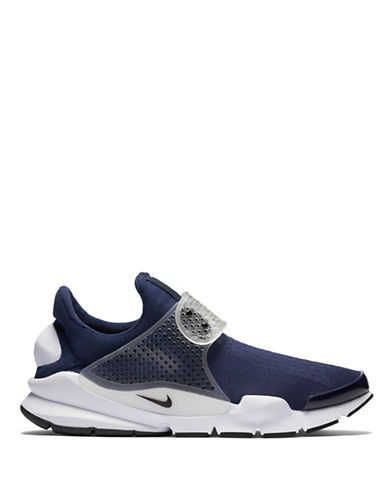 Nike Mens Sock Dart Colourblock Shoes-NAVY-9