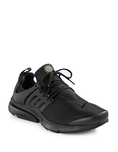 Nike Mens Air Presto Essential Sneakers-JET BLACK-8