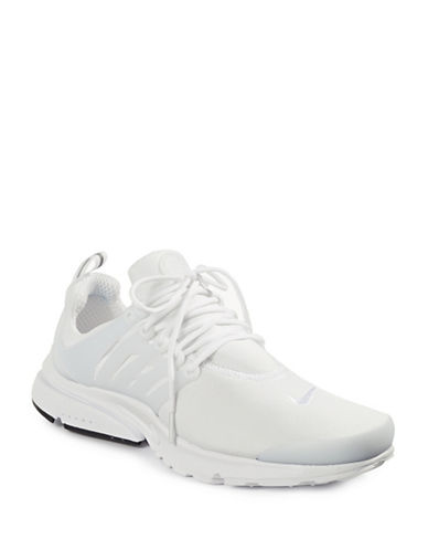 Nike Mens Air Presto Essential Sneakers-WHITE-8
