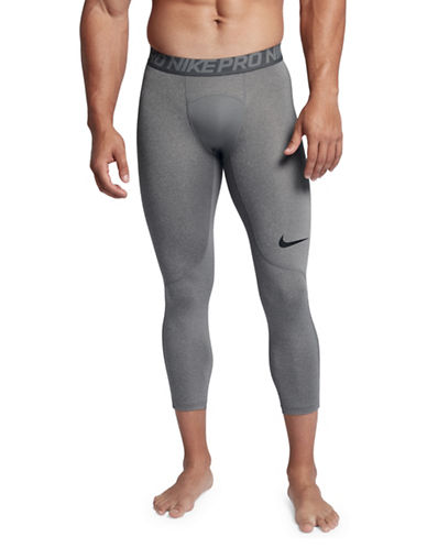 Nike Pro Three-Quarter Tights-GREY-X-Large 89689904_GREY_X-Large