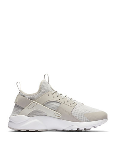 Nike Mens Air Huarache Run Shoes-GREY-8