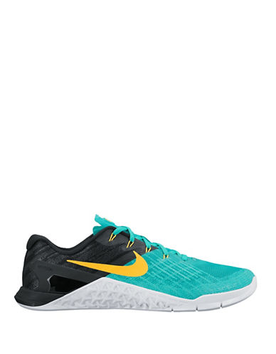 Nike Metcon3 Training Shoes-GREEN-9