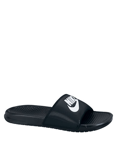 Nike Benassi Just Do It Slides-BLACK-12