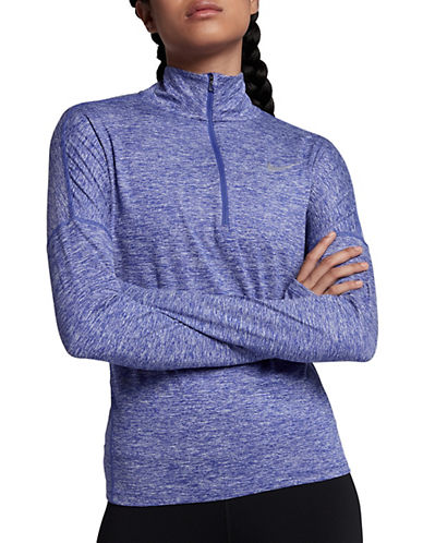 Nike Dry Element Running Top-PURPLE-Large