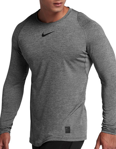 Nike Pro Long-Sleeve Top-GREY-Large 89733390_GREY_Large