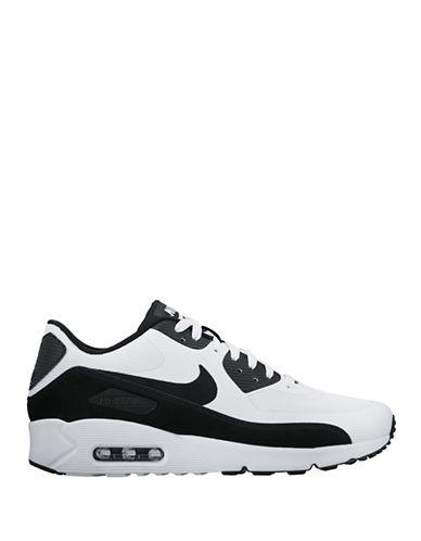 Nike Mens Air Max 90 Ultra 2.0 Essential Sneakers-BLACK/WHITE-7