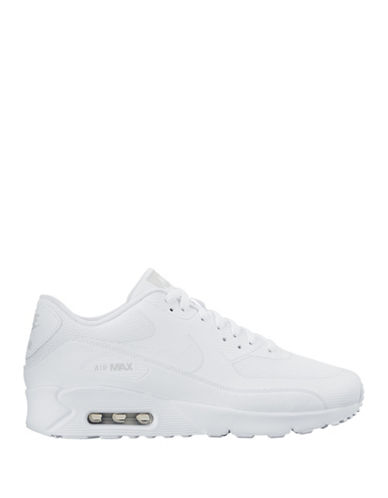 Nike Mens Air Max 90 Ultra 2.0 Essential Sneakers-WHITE-7