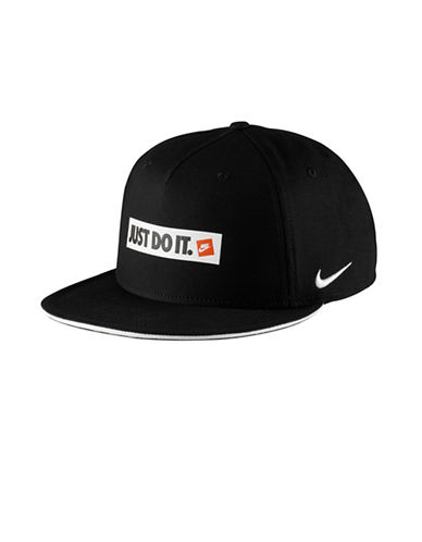 Nike Unisex Graphic Baseball Cap-BLACK-Large/X-Large