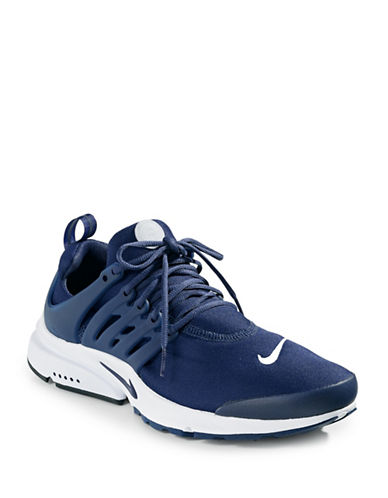 Nike Mens Air Presto Essential Sneakers-BLUE-12