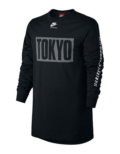 Nike Tokyo International Top-BLACK-Small 88925591_BLACK_Small
