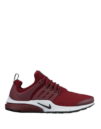 Nike Air Presto Essential Shoes-RED-9