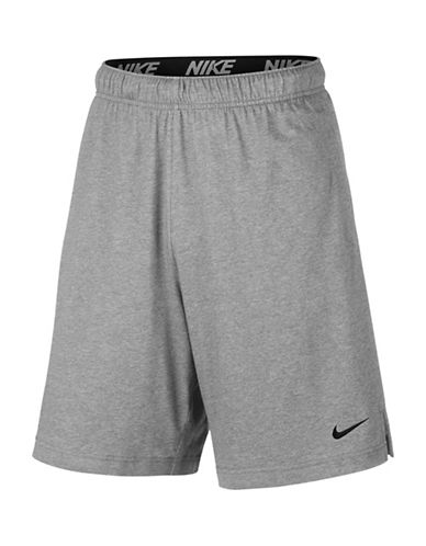 Nike Dri-Fit Training Shorts-GREY-Large 89690647_GREY_Large