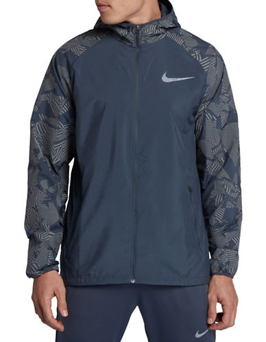 Nike Essential Flash Jacket-BLUE-Large 89690699_BLUE_Large