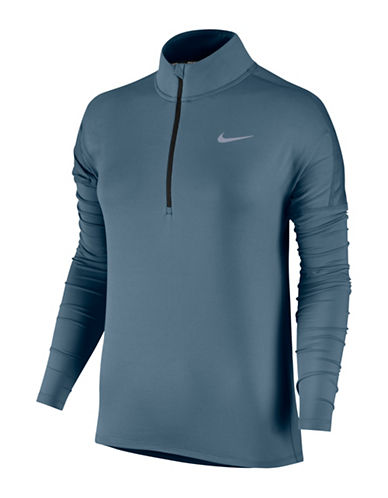 Nike Dry Element Running Top-BLUE-Small