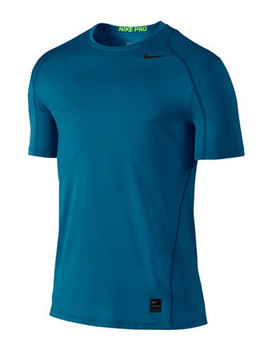 Nike Fitted Short Sleeve Tee-BLUE-Small 89157209_BLUE_Small