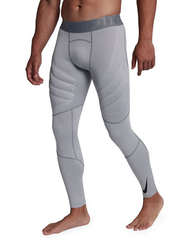 Nike Pro AeroLoft Tights-GREY-XX-Large