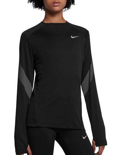 Nike Dry Miler Top-BLACK-Medium 89655720_BLACK_Medium