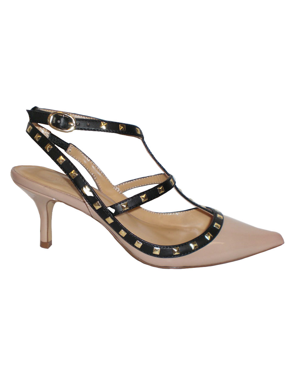 EXPRESSION Dahlia Strappy Pumps old rose Size 7