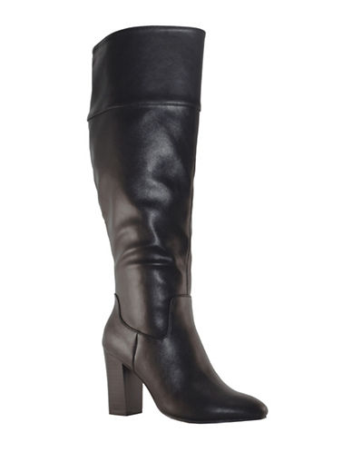 Expression Becket Knee High Dress Boots-BLACK-9
