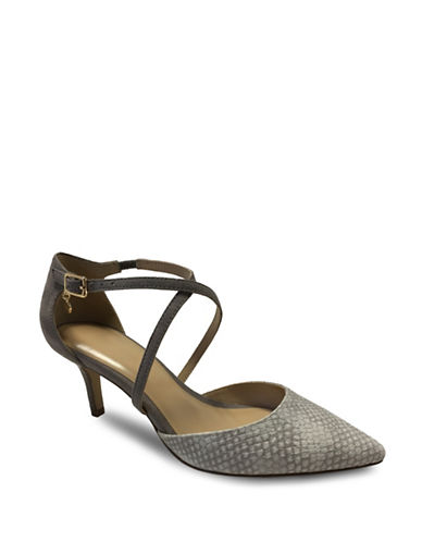 Expression Daisy Snake Pump Sandals-TAUPE-6