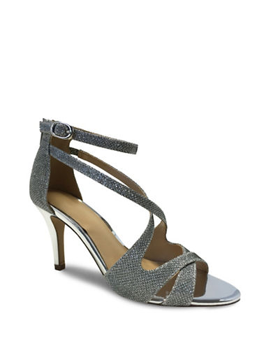 Expression Rayna Glitter Sandals-SILVER-9