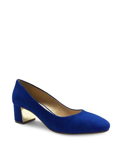 Expression Ramona Almond Toe Heels-COBALT-6