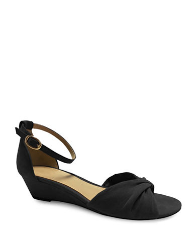Expression Alina Demi Wedge Sandals-BLACK-7