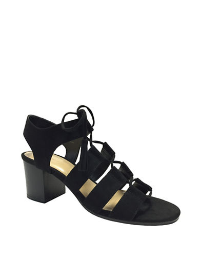 Expression Ezra Ghillie Sandals-BLACK-10