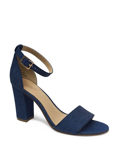 Expression Denim Sandals-BLUE-9