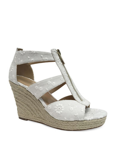 Expression Leyah Wedge Sandal-WHITE-9