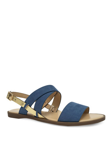 Expression Isla Cross Band Sandals-BLUE-9
