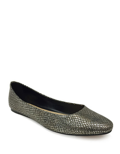 Expression Cyrus Slip-On Ballerinas-GREY-10