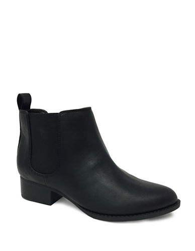 Expression Reya Chelsea Booties-BLACK-9