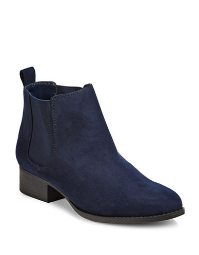 Expression Reya Chelsea Booties-NAVY-6