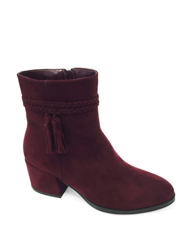 Expression Kyla Ankle Boots-BURGUNDY-7