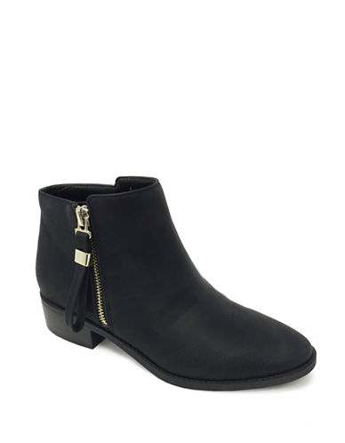 Expression Elias Faux Leather Ankle Boots-BLACK-10