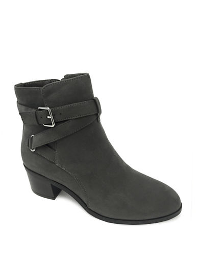 Expression Carmen Strappy Ankle Boots-GREY-7