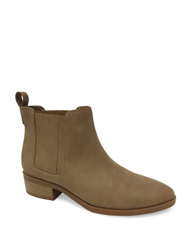 Expression Sana Slip-On Flat Booties-TAUPE-9