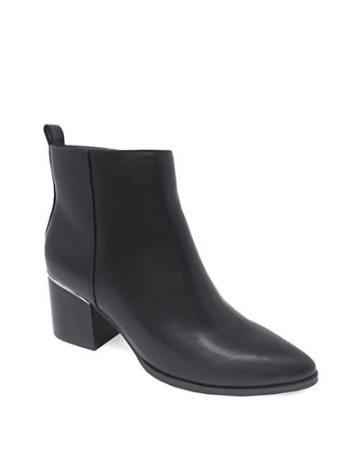 Expression Rory Block Heel Booties-BLACK-7
