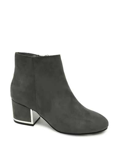 Expression Aria Block Heel Booties-GREY-7