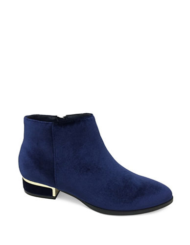 Expression Tris Point Toe Booties-BLUE-8