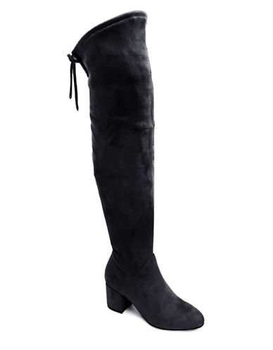 Expression Deena Over the Knee Boots-BLACK-8