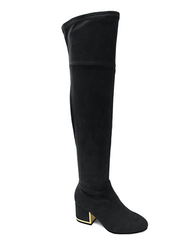 Expression Norah Over The Knee Boots-BLACK-6