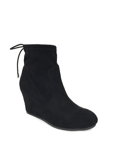 Lexi And Abbie Sloan Stretch Booties-BLACK-5
