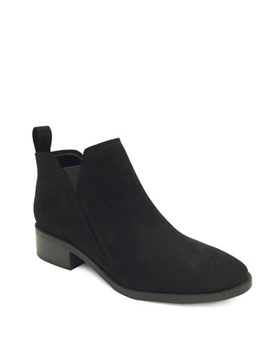 Lexi And Abbie Rayne Slip-On Booties-BLACK-7
